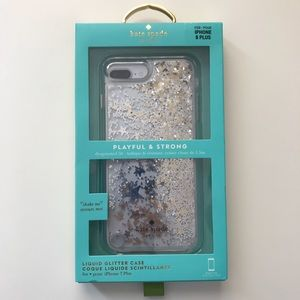 Kate Spade Liquid Glitter IPhone 8 & 7 Plus Case